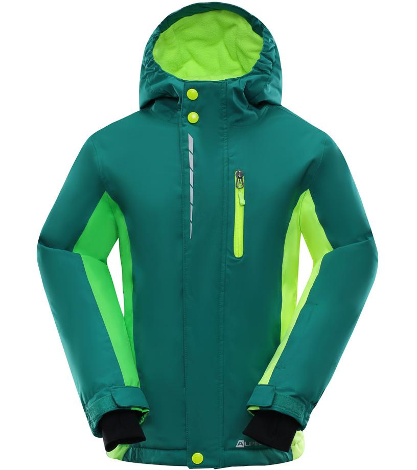 ALPINE PRO WIREMO Dětská lyžařská bunda KJCK077593 116-122