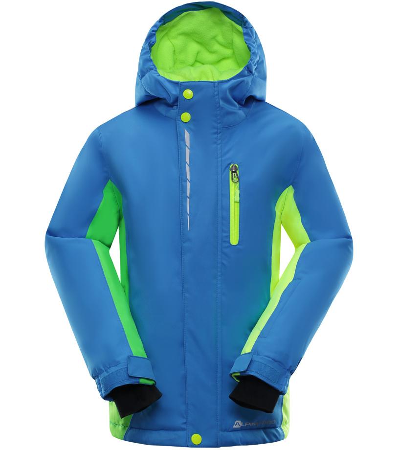 ALPINE PRO WIREMO Dětská lyžařská bunda KJCK077674 Blue aster 164-170