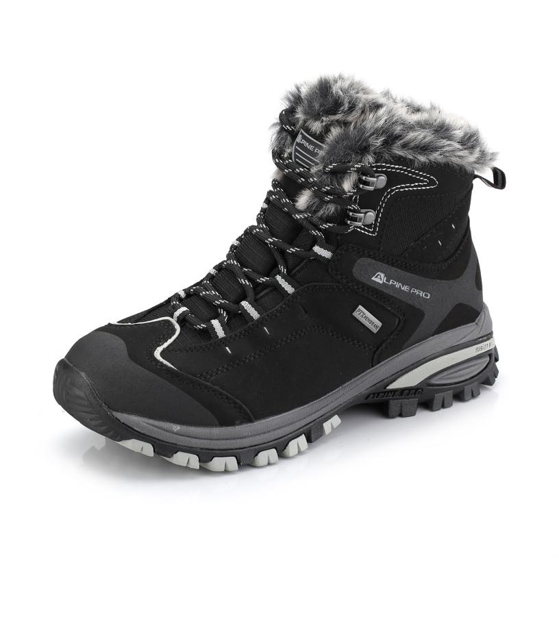 ALPINE PRO BONA Dámská zimní obuv LBTK083990 černá 39