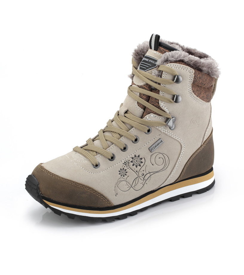 ALPINE PRO XALINA Dámská zimní obuv LBTK143208 síra 41