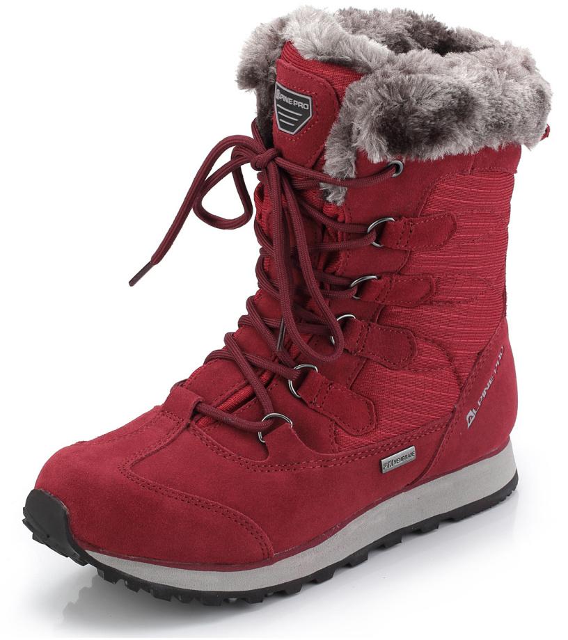 ALPINE PRO ALLYSON Dámská zimní obuv LBTK144475 purpurový plamen 38 4fd6561df4f