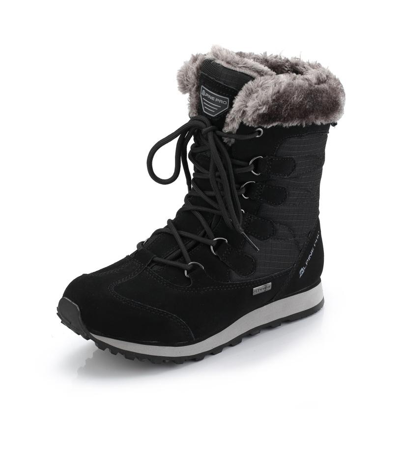 ALPINE PRO ALLYSON Dámská zimní obuv LBTK144990 černá 39