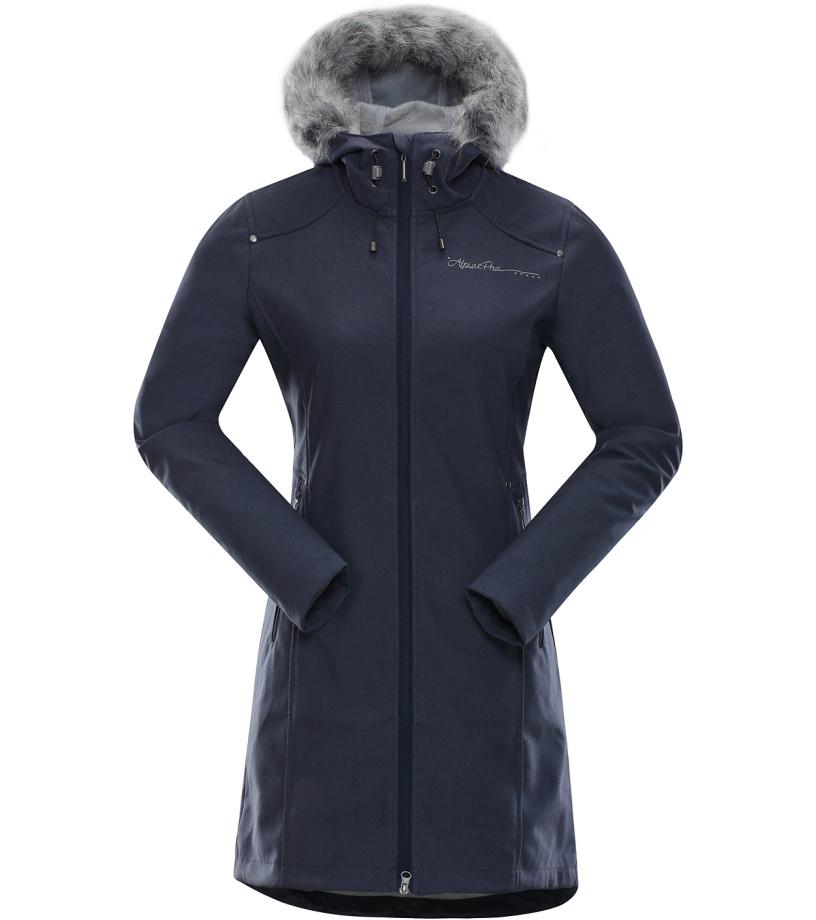 ALPINE PRO PRISCILLA 2 INS. Dámský softshellový kabát LCTK023602 mood indigo S