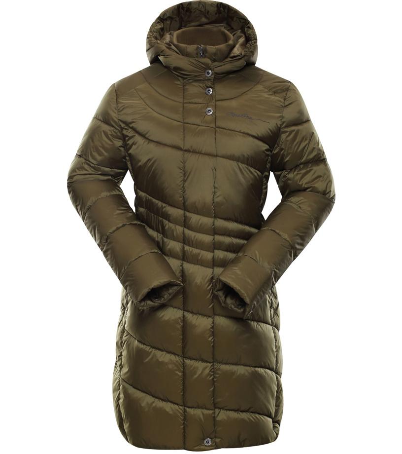 ALPINE PRO OMEGA 2 Dámský kabát LCTK025116 nutria XS