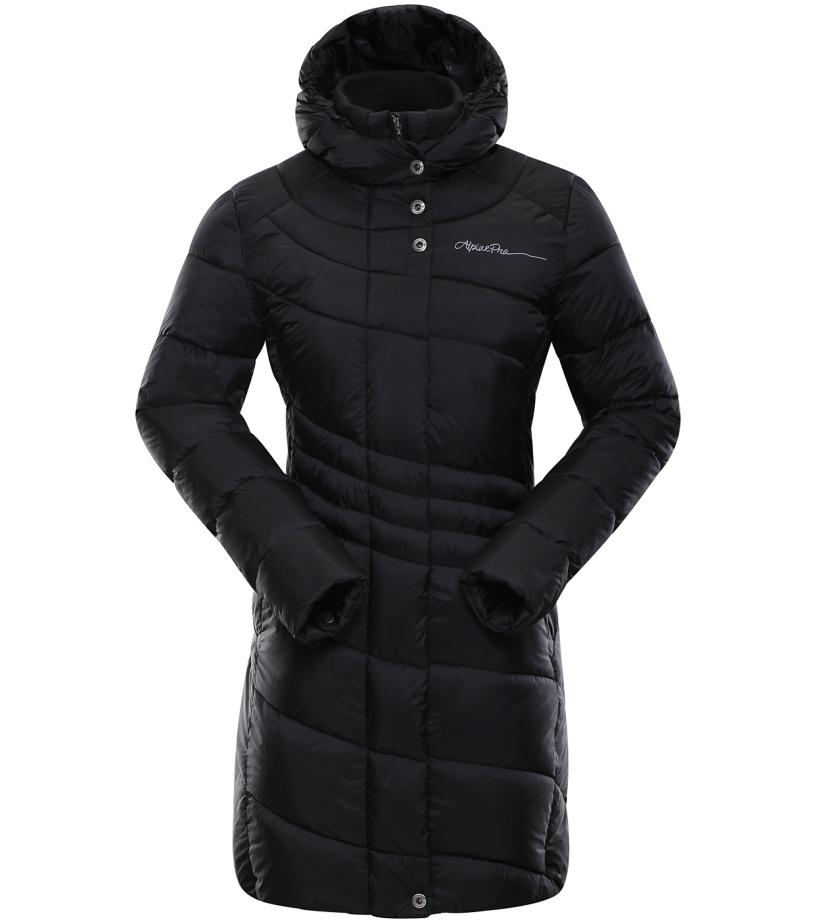 ALPINE PRO OMEGA 2 Dámský kabát LCTK025990 černá XS