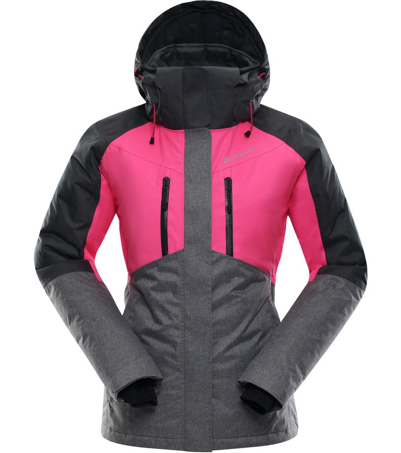ALPINE PRO SARDARA Dámská lyžařská bunda LJCK193452 růžová S