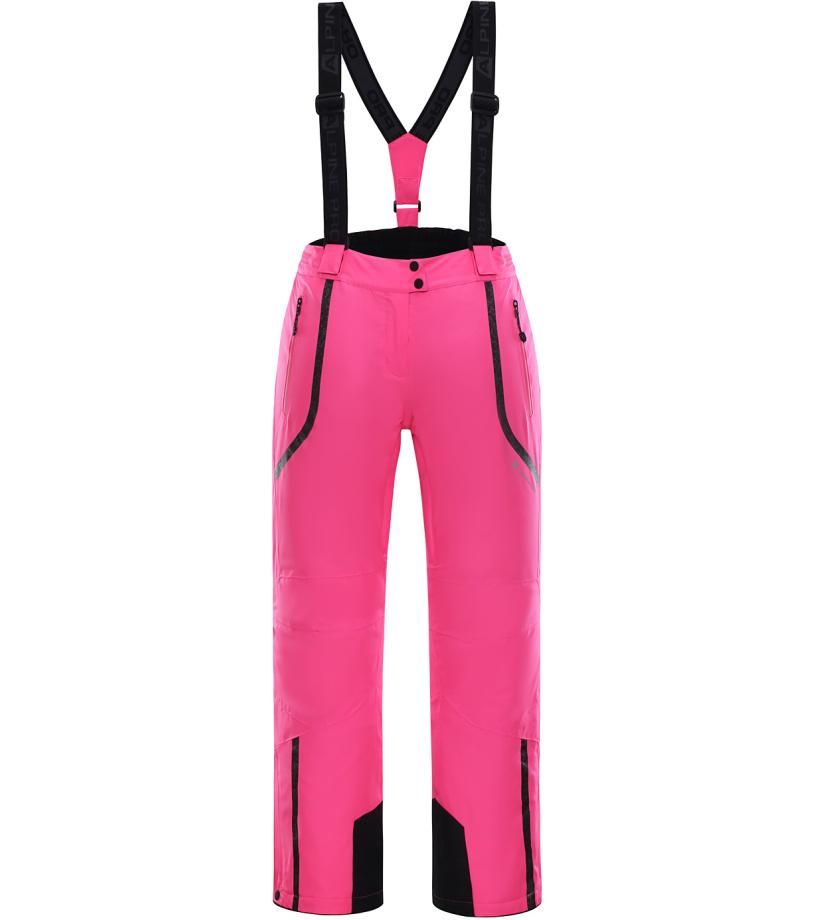 ALPINE PRO NUDDA 2 Dámské lyžařské kalhoty LPAK185452 růžová M