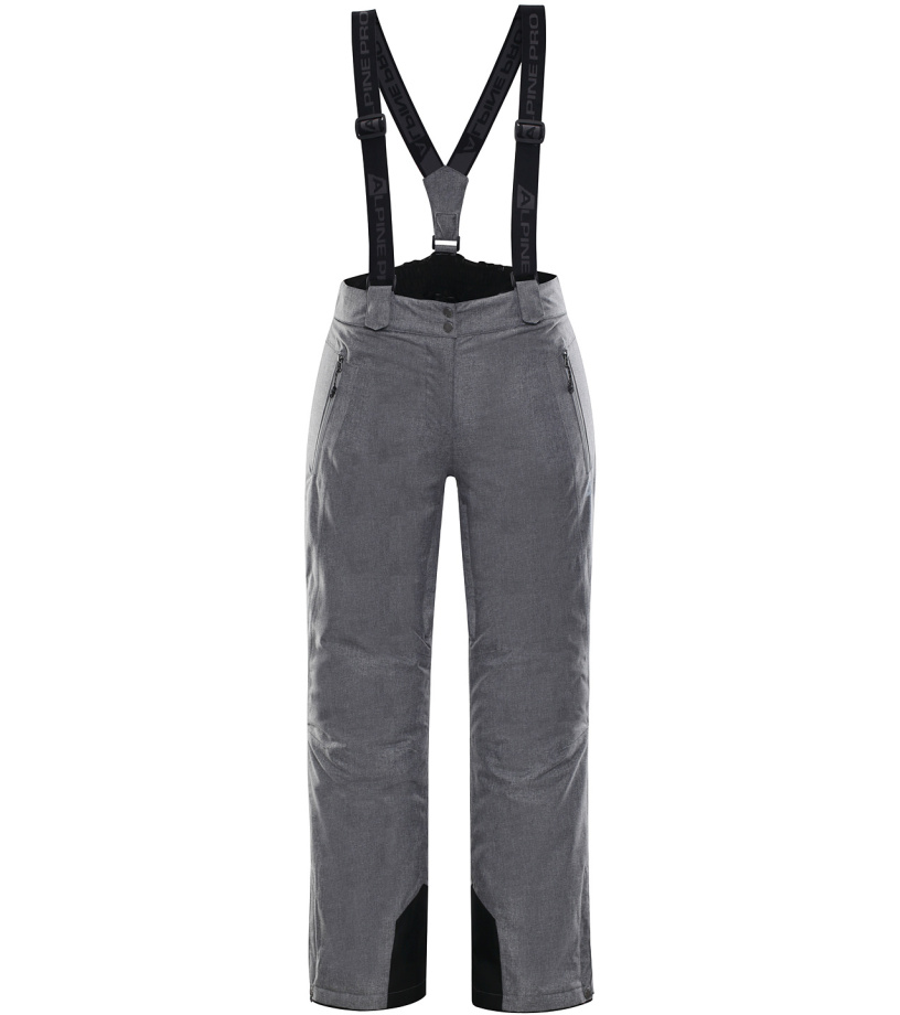 ALPINE PRO MINNIE 4 Dámské lyžařské kalhoty LPAK238774 šedá XS