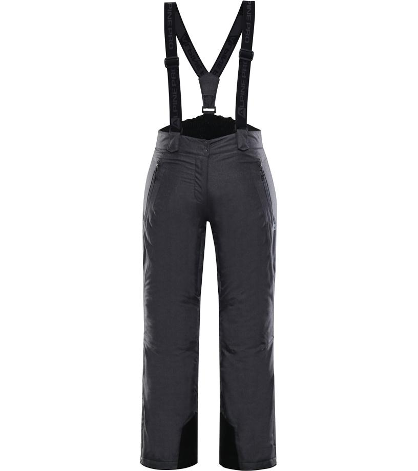 ALPINE PRO MINNIE 4 Dámské lyžařské kalhoty LPAK238990 černá XS