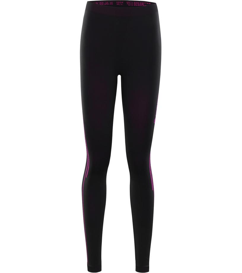 ALPINE PRO KRATHISA 2 Dámské spodní kalhoty LUNK031990 černá XL-XXL
