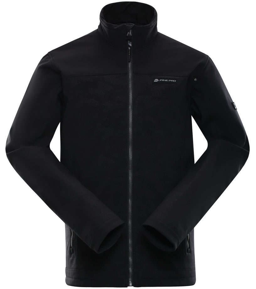 ALPINE PRO KAYSEN Pánská bunda MJCK210990 černá