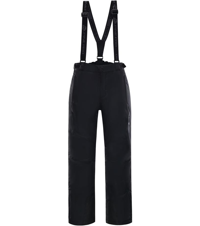 ALPINE PRO SANGO 4 Pánské lyžařské kalhoty MPAK212990 černá XL