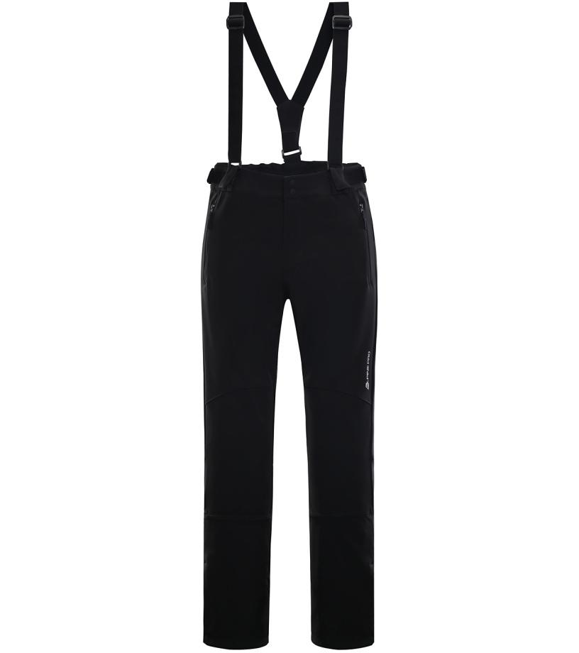 ALPINE PRO NEX 2 Pánské lyžařské kalhoty MPAK213990 černá S