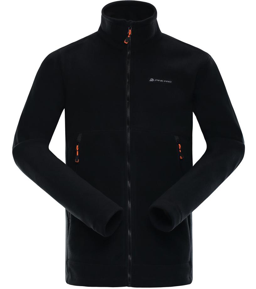 ALPINE PRO LAVAREDO 3 Pánská mikina MSWK073990 černá S