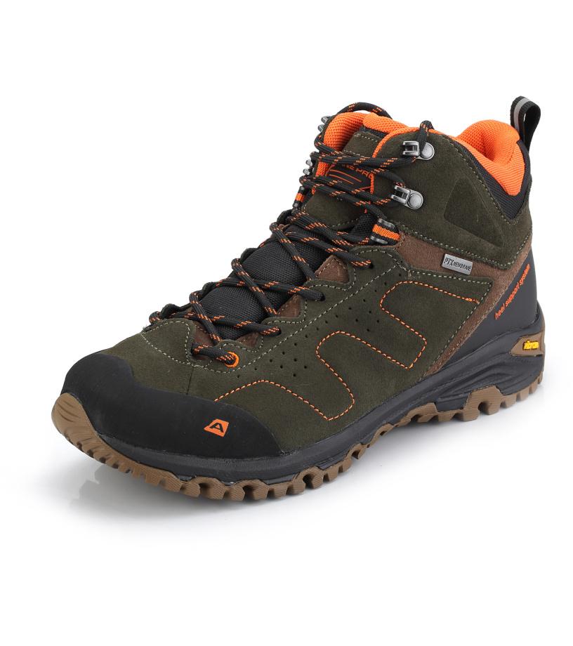 ALPINE PRO TRIGLAV 2 MID Uni outdoorová obuv UBTK137116 nutria 37