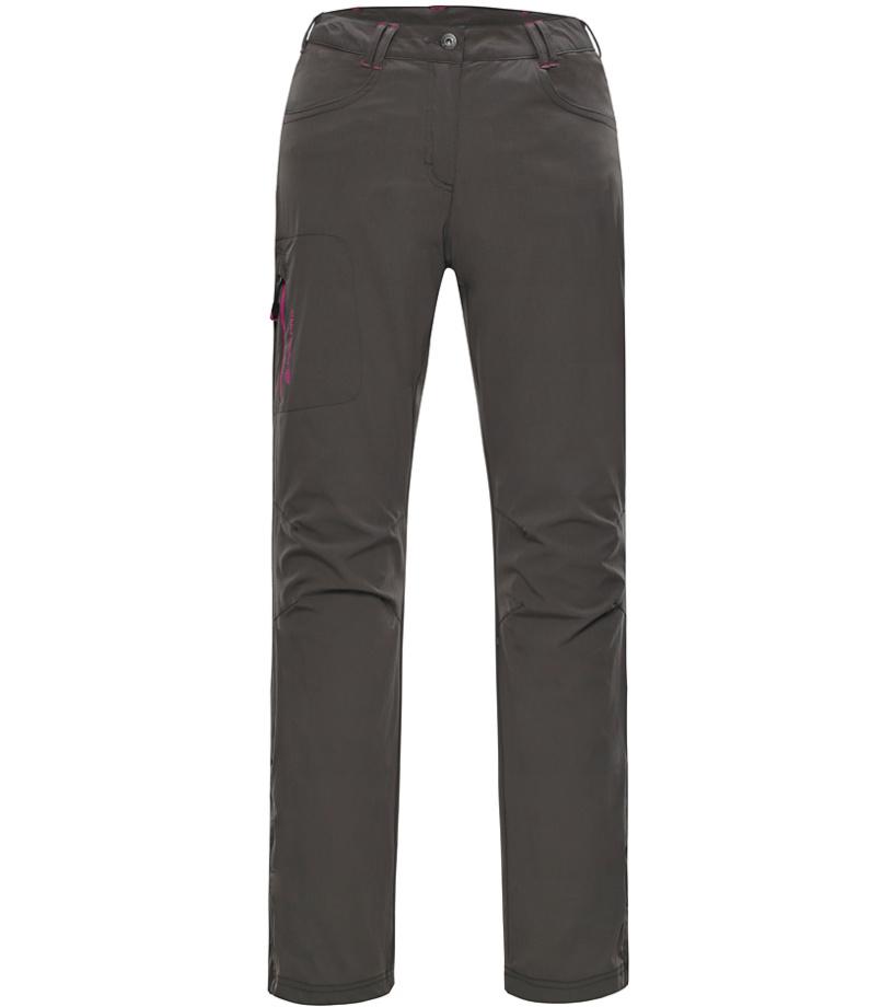 ALPINE PRO AMELIE Dámské softshellové kalhoty LPAG064122 steeple gray 36
