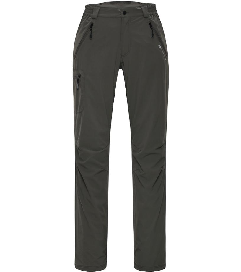 ALPINE PRO LOGAN Pánské softshellové kalhoty MPAG067122 steeple gray