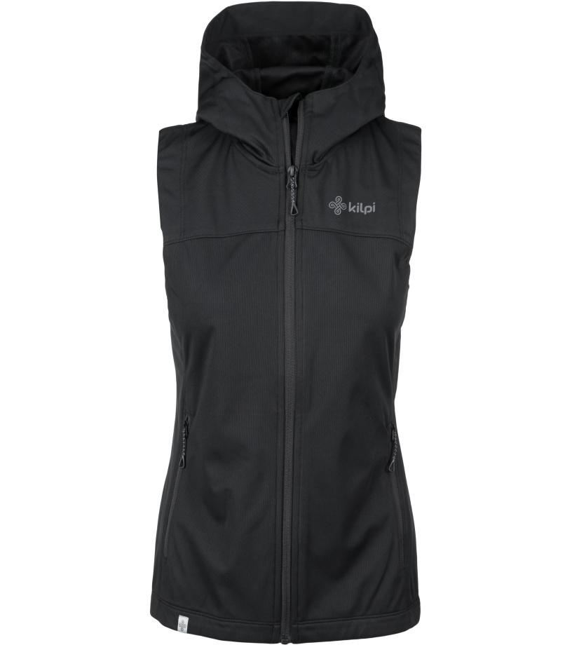 KILPI Dámská outdoorová vesta - větší velikosti PAMIR-W KLX045KIBLK Černá 50