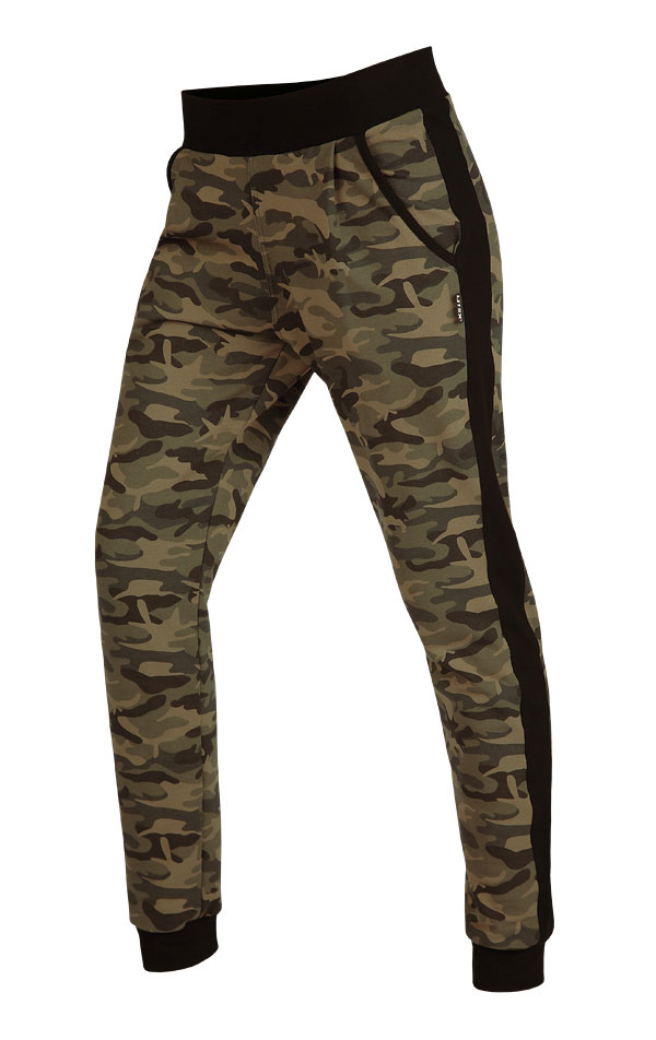 LITEX Kalhoty dámské dlouhé s nízkým sedem 60299999 tisk S