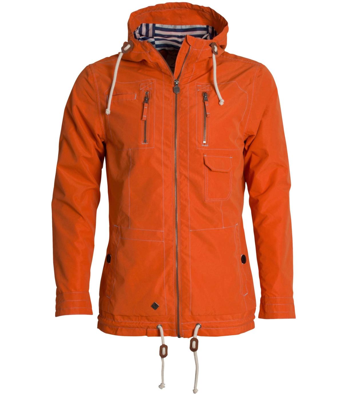 WOOX Větrovka Drizzle Jacket Men´s Orange wx1524002 XS