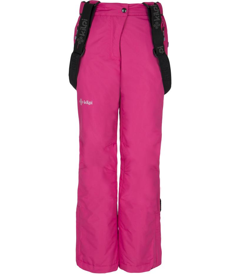 KILPI Dívčí lyžařské kalhoty GITA-JG DJ0009KIPNK Růžová 152