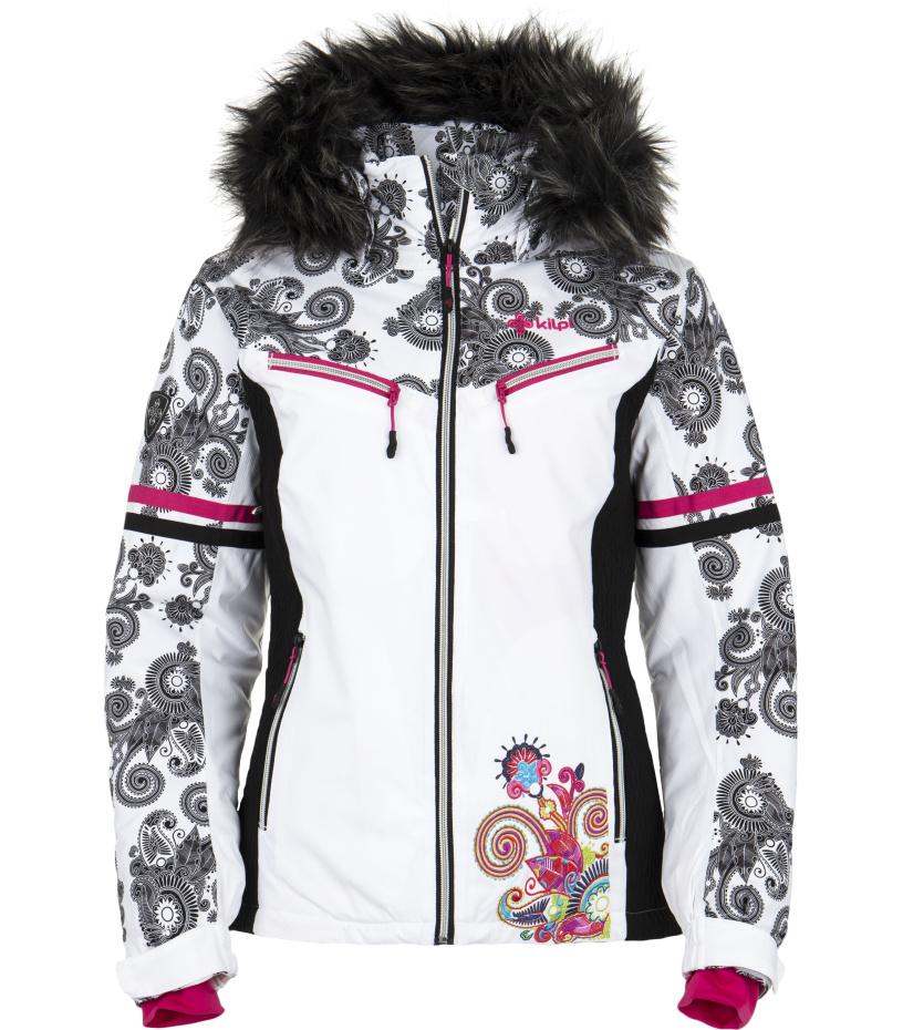 KILPI Dámská snowboardová bunda LENA DL0117KIBLK Černá 42