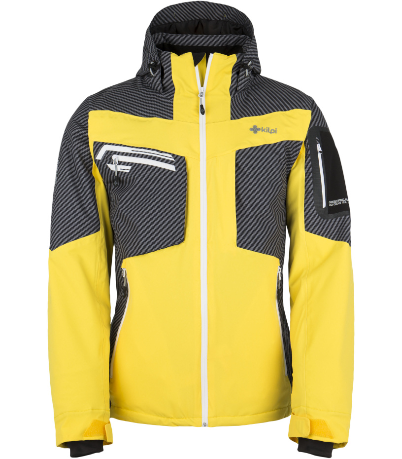 KILPI Pánská lyžařská bunda BENJAMIN DM0060KIYEL Žlutá L