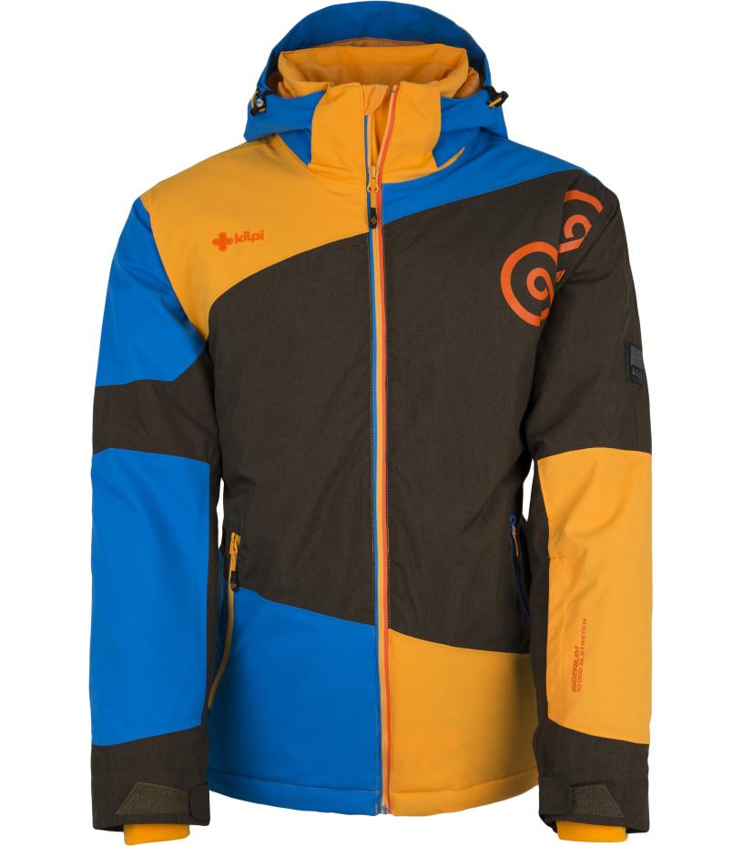 KILPI Pánská snowboardová bunda RADOLFO DM0156KIBLU Modrá M
