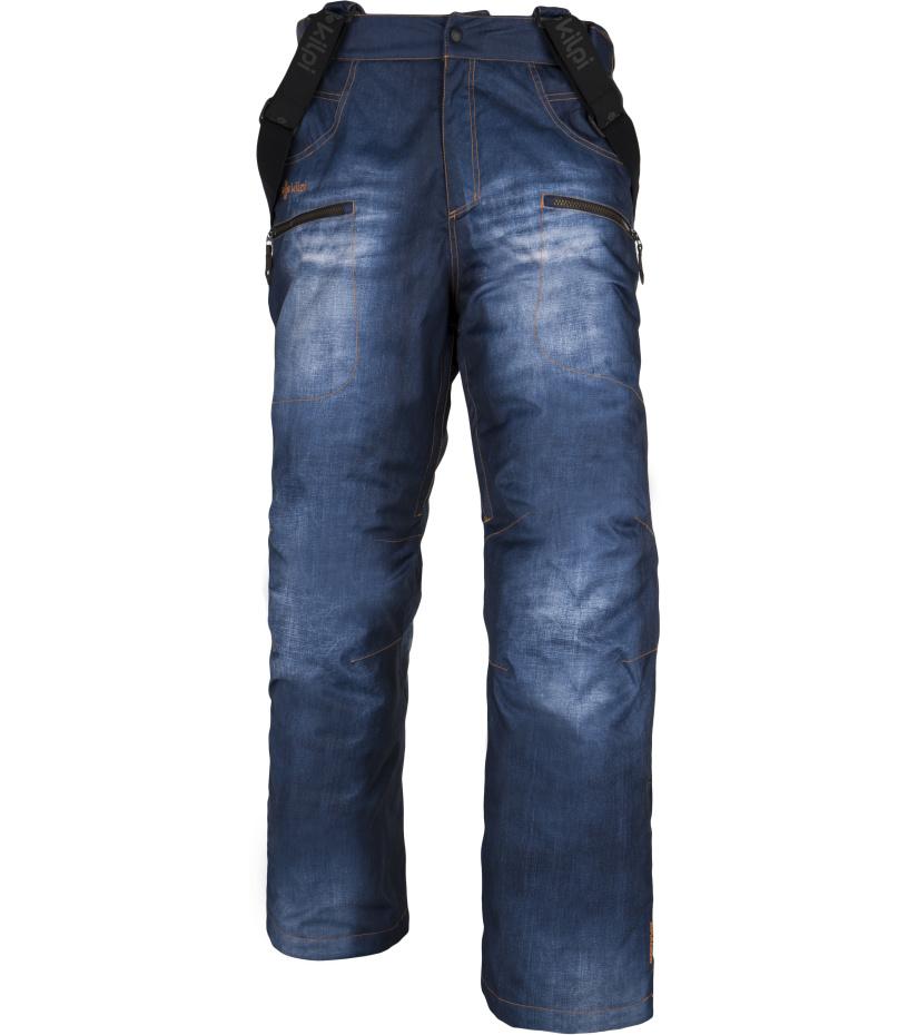 KILPI Pánské snowboardové kalhoty JEANSTER-M DM0410KIBLU Modrá S