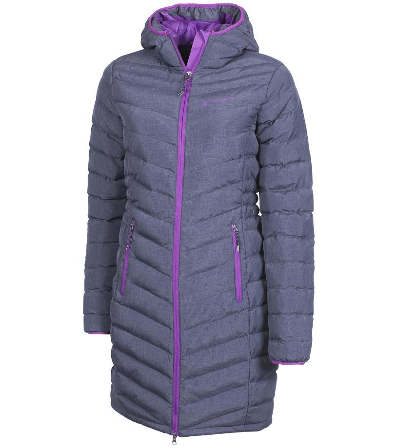 ALPINE PRO ADRIANNA Dámský kabát LCTF019779 tmavě šedá M