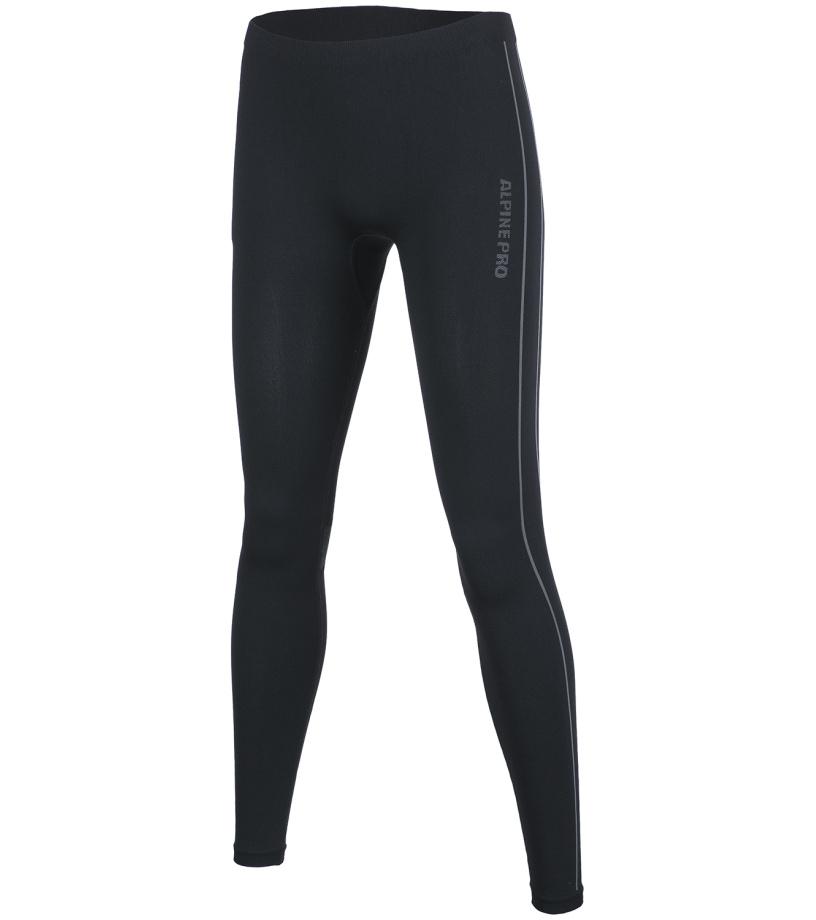 ALPINE PRO KRATHISA Dámské spodní kalhoty LUNF016990 černá XL-XXL