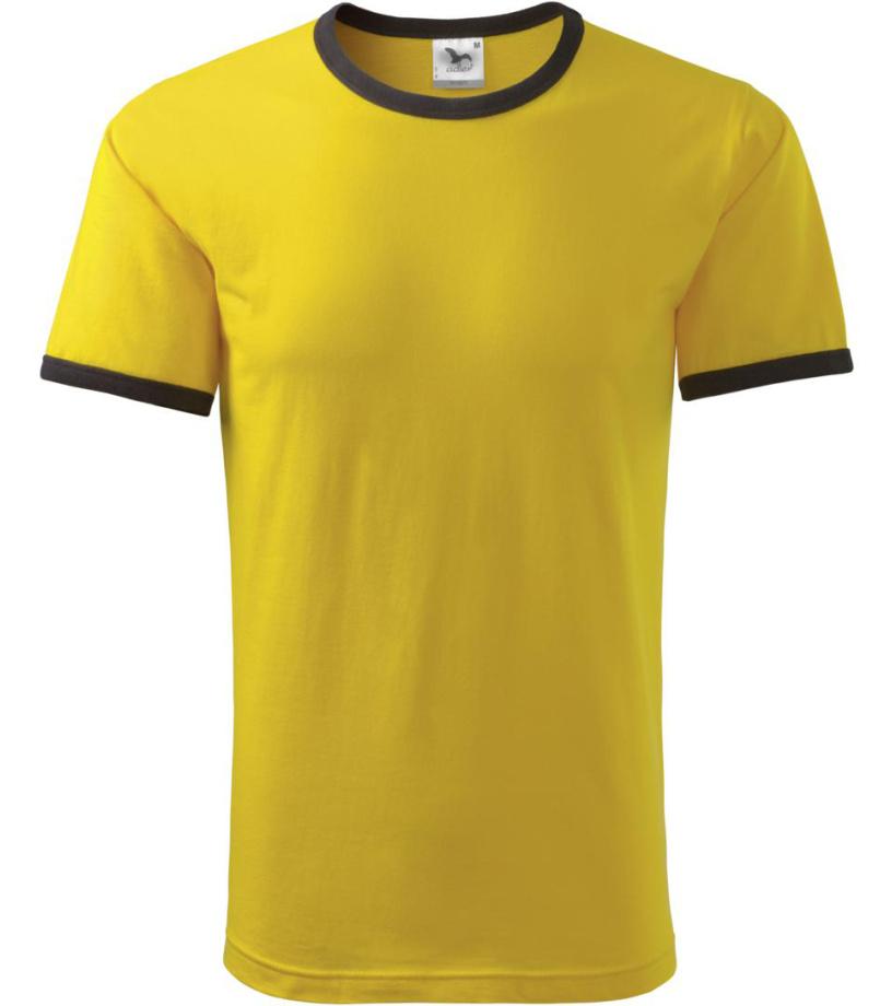 ADLER Infinity Dětské triko 14804 žlutá 122