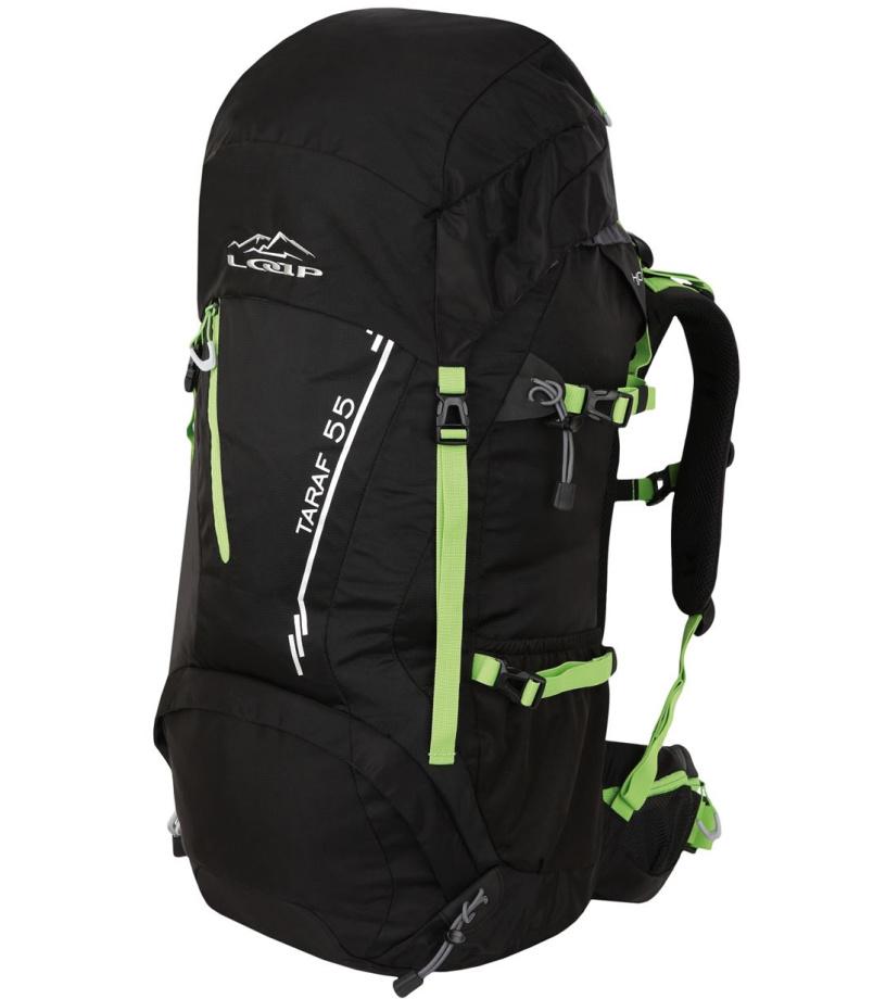 LOAP TARAF 55 Turistický batoh BE1707V11N černá/lime