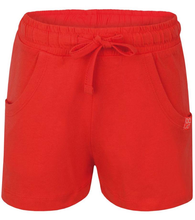 LOAP ISTY Dětské kraťasy L7027E34E oranžová 116