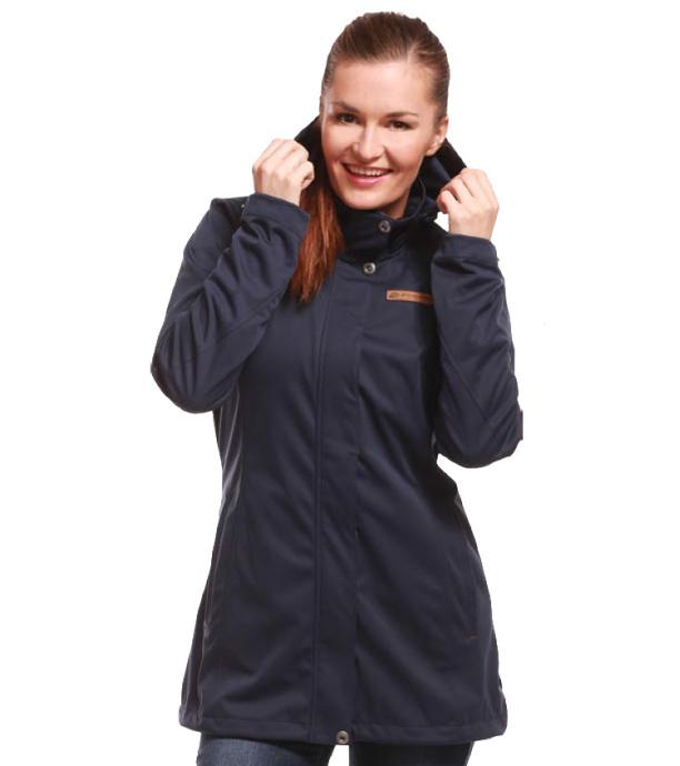 ALPINE PRO CAMISA Dámský softshellový kabát LCTJ031602 mood indigo L