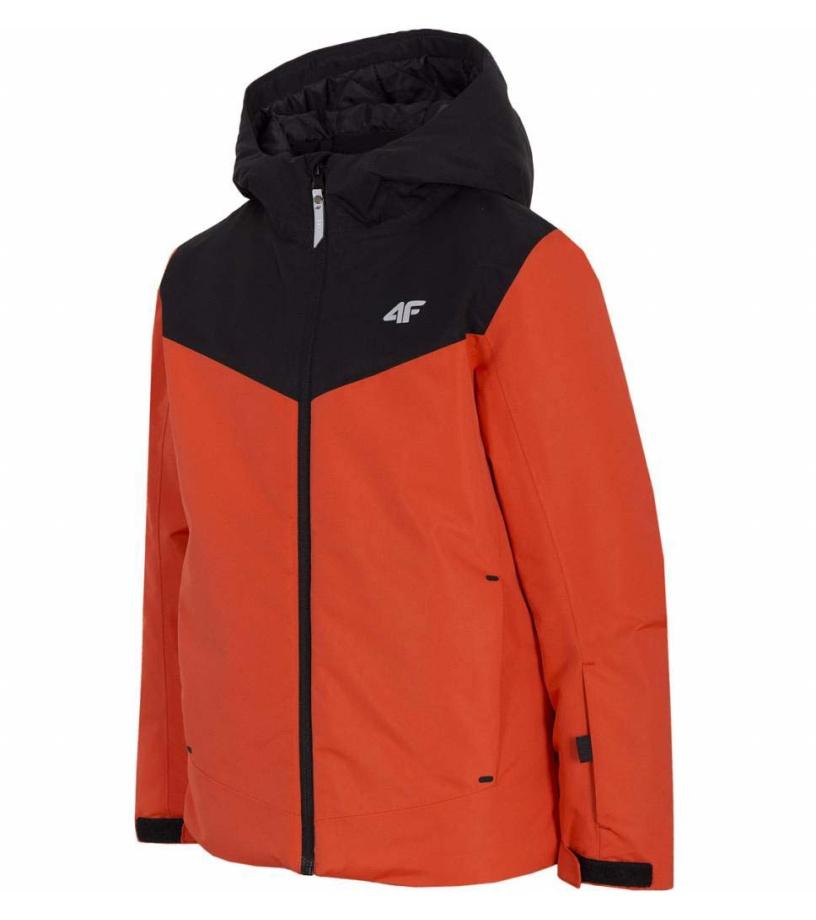 Chlapecká lyžařská bunda HJZ20-JKUMN001A-62S RED 122