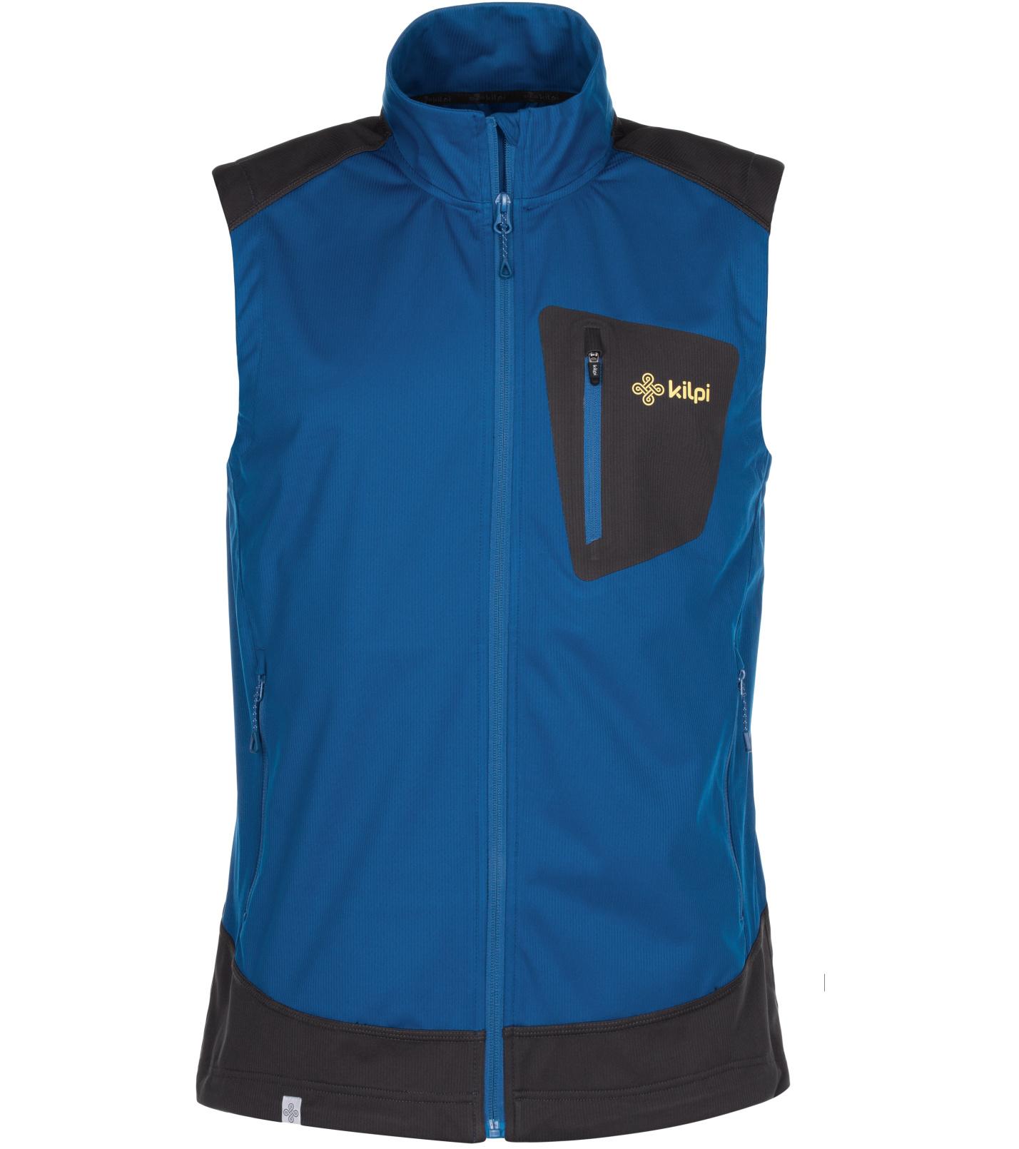 KILPI Pánská outdoorová vesta TOFANO-M MM0016KIDBL Tmavě modrá L