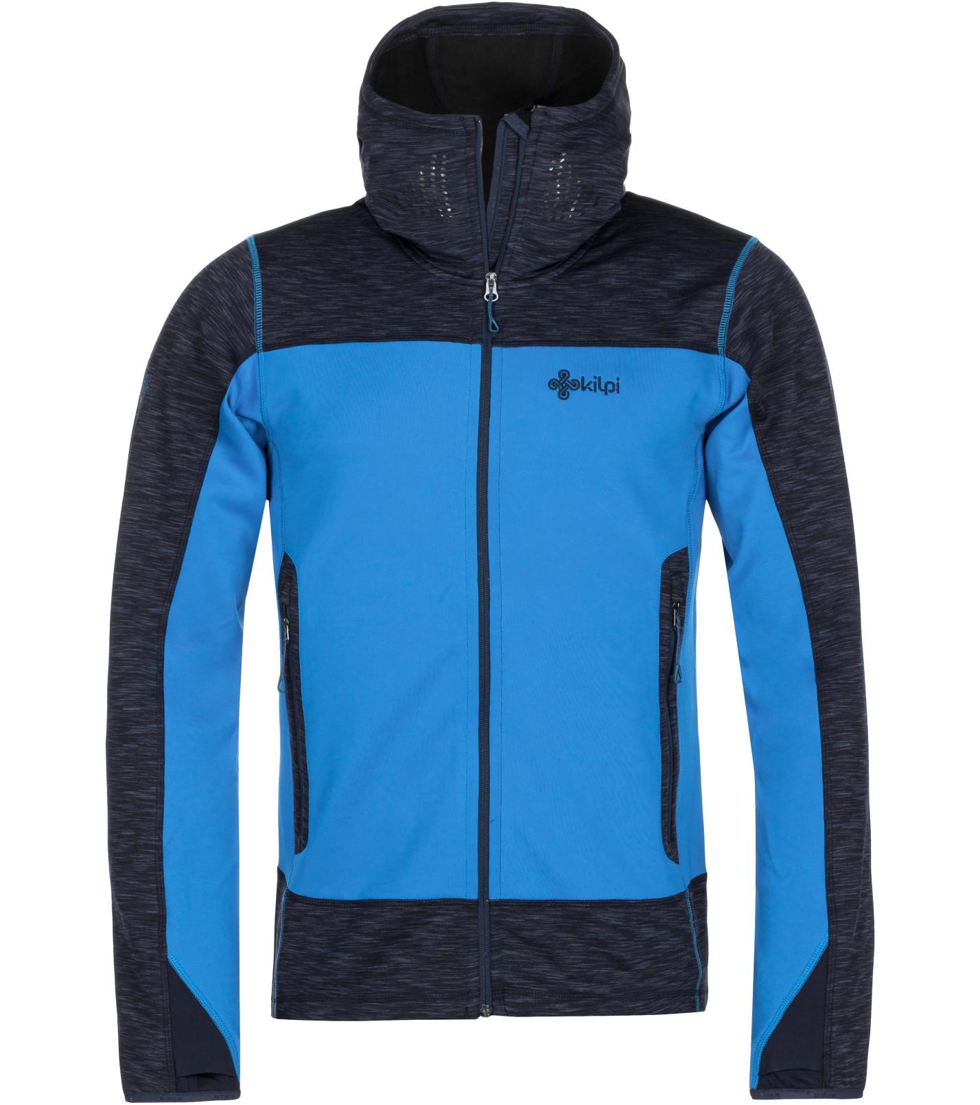KILPI Pánská stretchová mikina ASSASIN-M MM0107KIDBL Tmavě modrá M