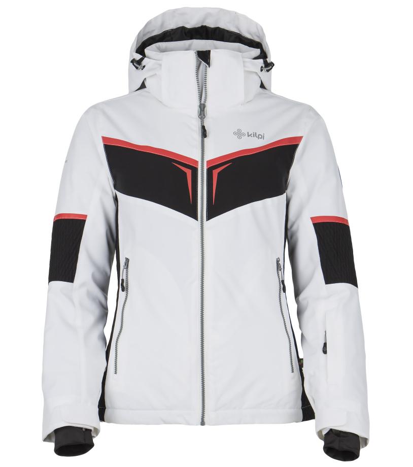KILPI Dámská lyžařská bunda FIONA DL0085KIWHT Bílá 42