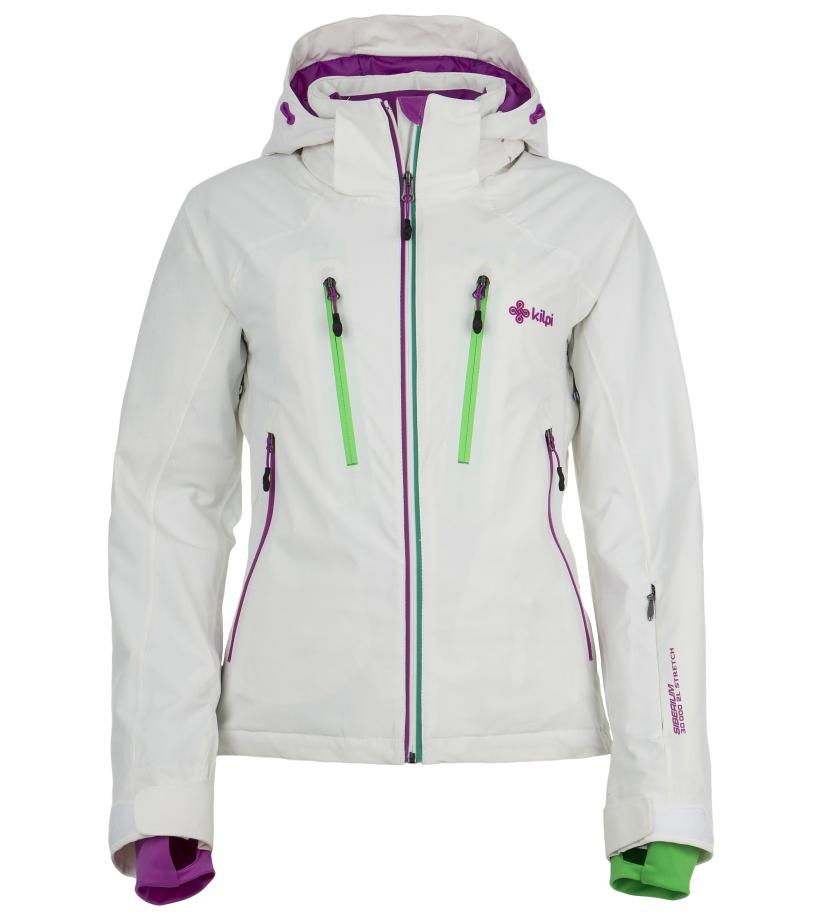 KILPI Dámská lyžařská bunda LILLIAN DL0097KIWHT Bílá 42