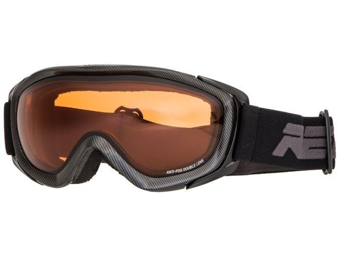 RELAX FELT Lyžařské brýle HTG16L černá -