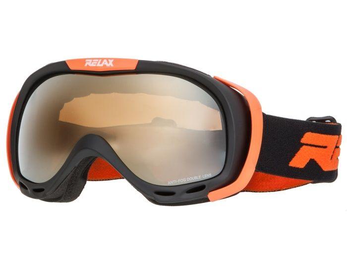 RELAX AIRFLOW Lyžařské brýle HTG22K černo oranžová -