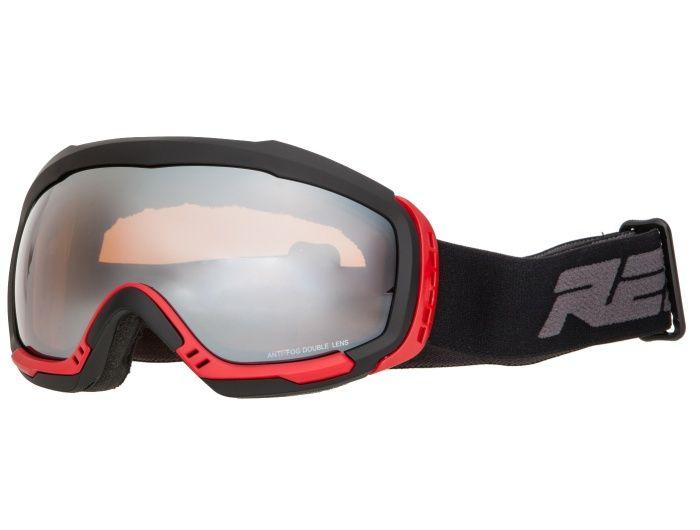 RELAX BONDY Lyžařské brýle HTG32G černá/červená -