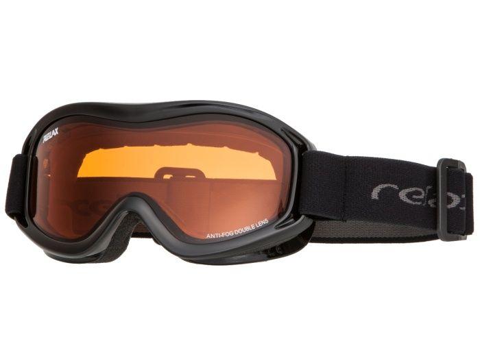 RELAX TEDDY Lyžařské brýle HTG33C černá -