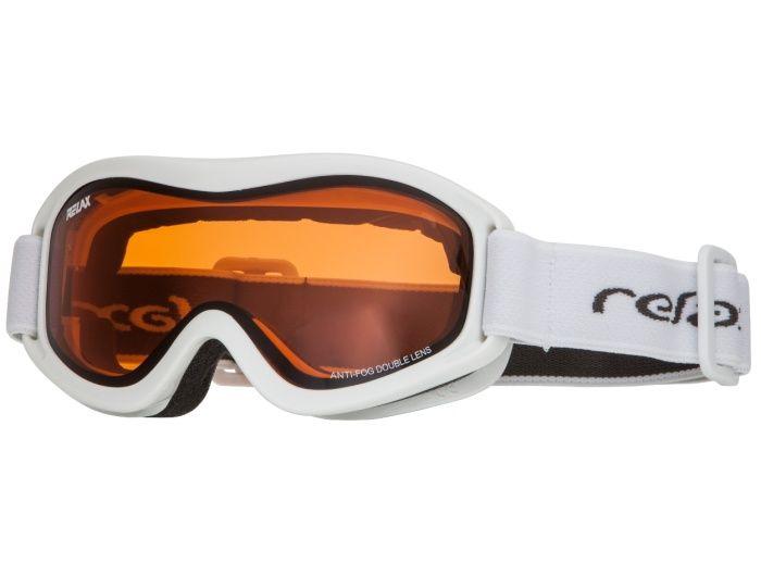 RELAX TEDDY Lyžařské brýle HTG33D bílá -
