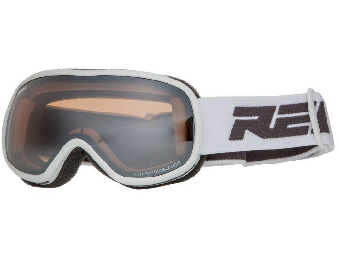 RELAX VIPER Juniorské lyžařské brýle HTG35D bílá -