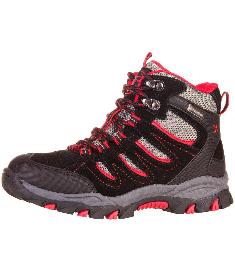ALPINE PRO EFRO Dětská outdoorová obuv KBTF111990 černá 28