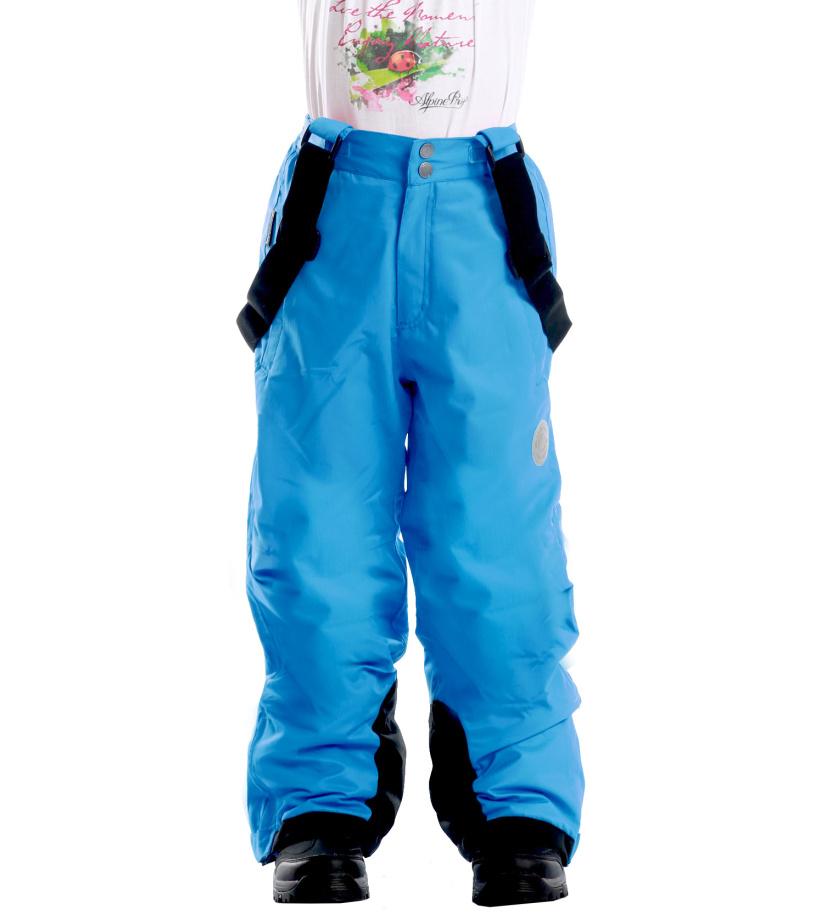 ALPINE PRO SEZI Dětské kalhoty KPAD029631 dresden 116-122