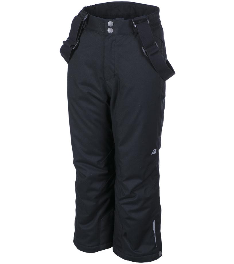 ALPINE PRO AVENTINO Dětské kalhoty KPAF016990 černá 104-110