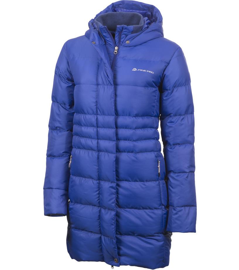 ALPINE PRO OMEGA Dámský kabát LCTF001688 ultra blue S